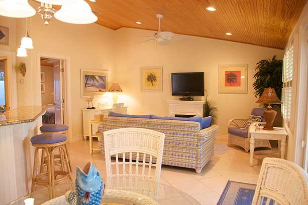 Bungalow 1 Living Rooms